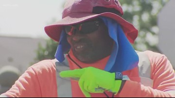 'They love me, and I love them' | Crossing guard named School Hero, given $10,000