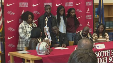 Signing Day for athletes at South Pointe
