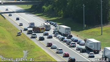 Interstate 77 in Huntersville back open following multi-vehicle crash