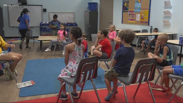 Take a look inside YMCA's new back-to-school program