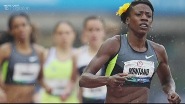 Runner says Nike wanted to 'pause' her contract when she got pregnant
