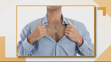 Survey: 55% of men are embarrassed by their body hair