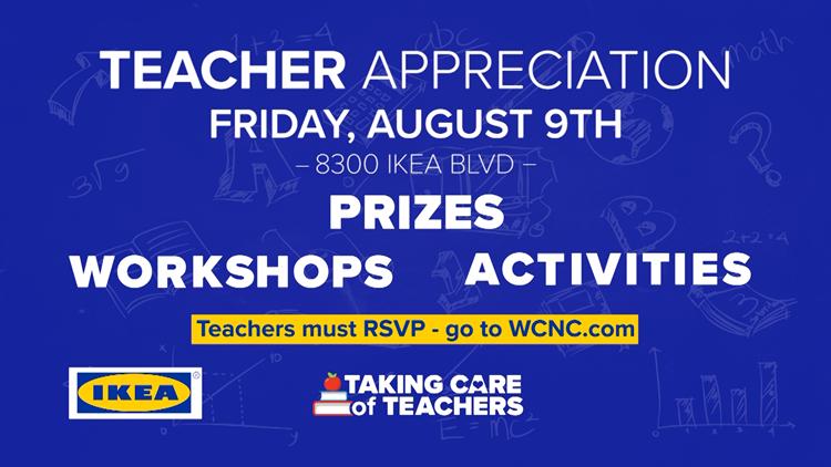Ikea Teacher Appreciation