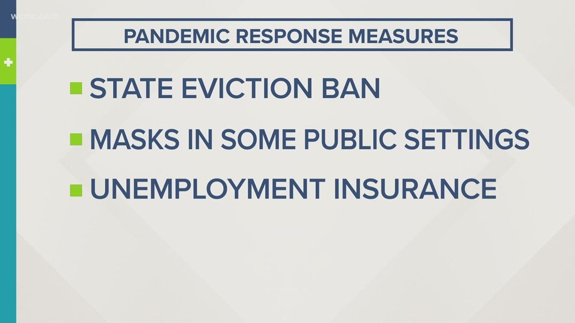 Governor Cooper extends pandemic response measures