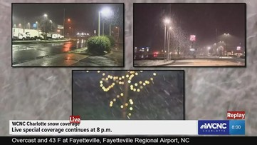 Snow update: WCNC Charlotte digital special