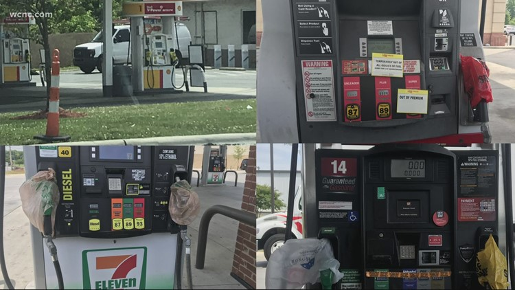 Gas pumps still dry at Mint Hill mom-and-pop gas station