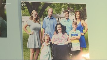 Concord mother of 5 battles ALS; daughter says 'every day is different'