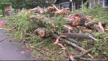 Tornado confirmed in Lincolnton Friday