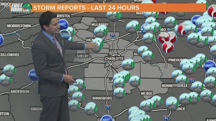 FORECAST: Cooler; Scattered Rain For Afternoon