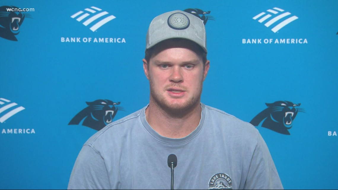 Sam Darnold addresses if he plans to get the COVID-19 vaccine