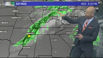 FORECAST: Showers back in the forecast for late Thursday