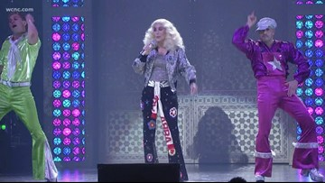 Cher takes the stage in Charlotte on 'Here We Go Again' tour