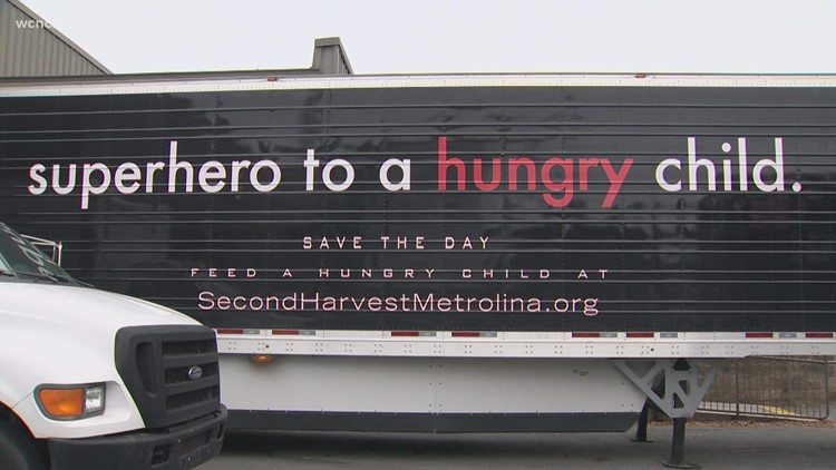 Food bank stocks up ahead of the holidays