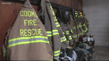 Cook's Volunteer Fire Department at risk of closing