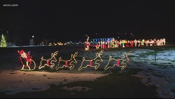 Community keeps holiday lights tradition going