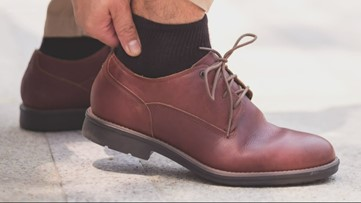 How long uncomfortable shoes will hurt your feet