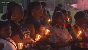 'Mothers of Murdered Offspring' holds vigil on Mother's Day
