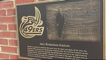 UNCC students want Jerry Richardson's name off football stadium