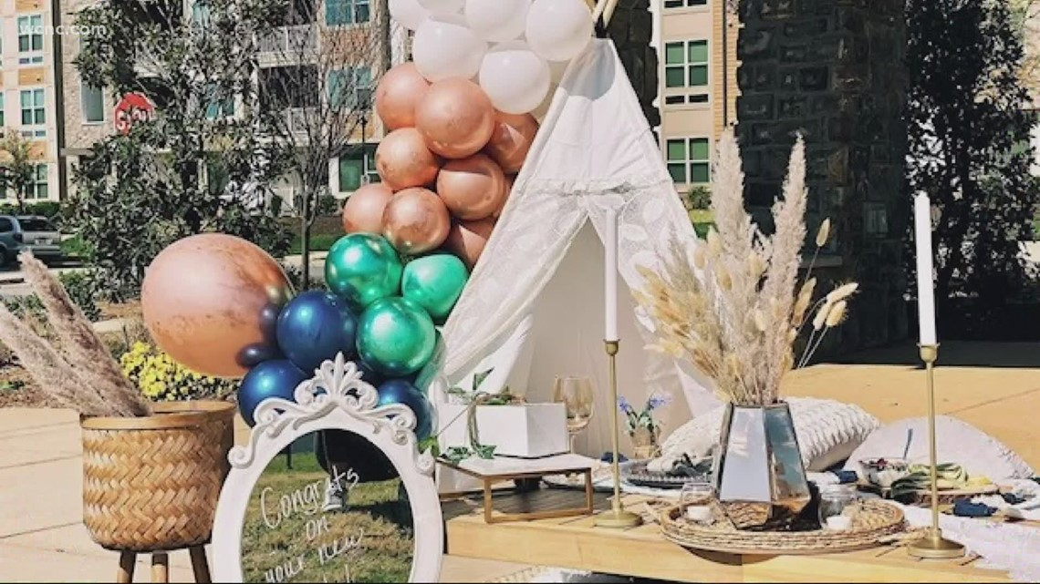 Charlotte woman creates luxury picnic service to bring loved ones together