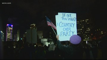 Impeachment rally in Charlotte