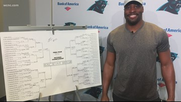 Panther tight end, Hornet forward pick NCAA brackets