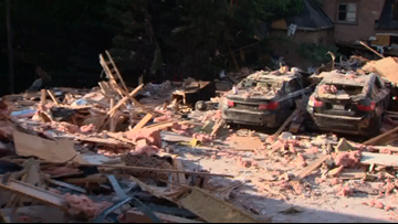 Ballantyne home explosion caused by internal gas leak