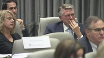 Mark Harris' son provides emotional testimony in 9th District hearing