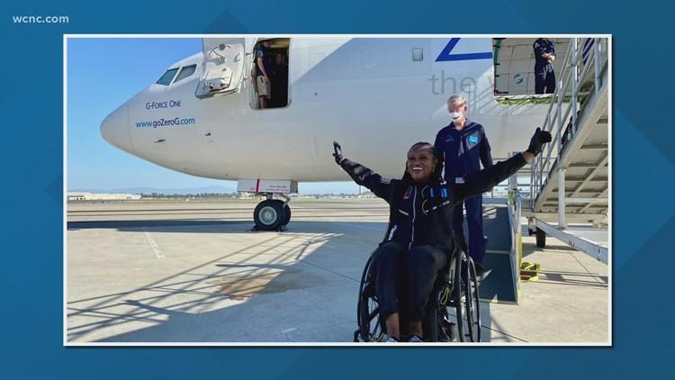 South Carolina woman helps conduct zero-gravity research