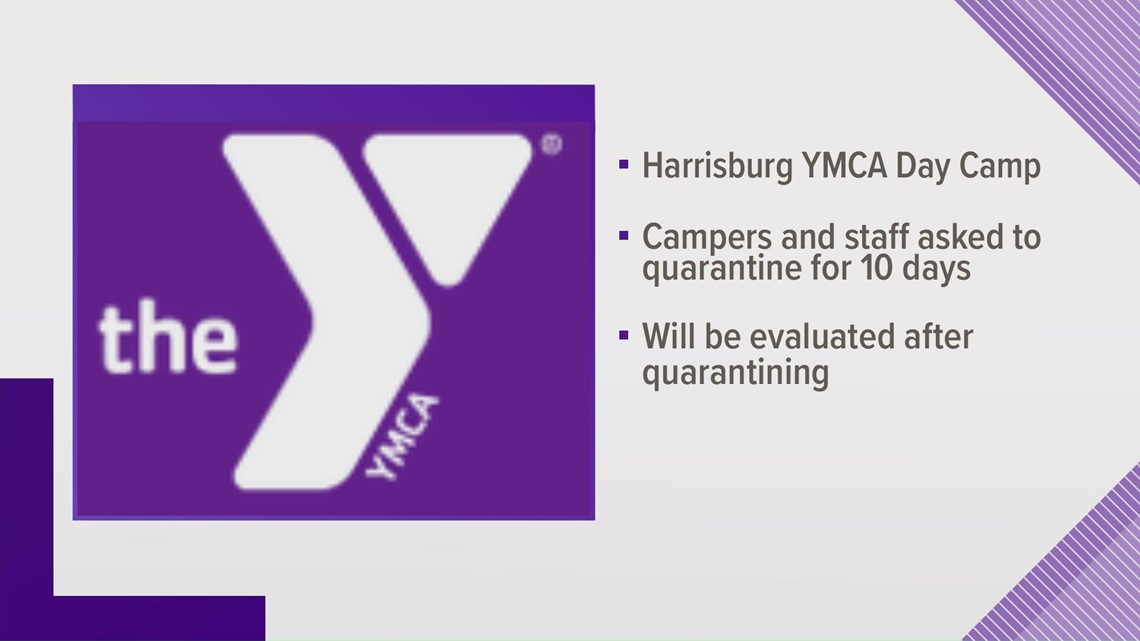Harrisburg YMCA Day Camp staff, campers asked to quarantine after rise in COVID-19 cases