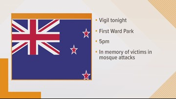 A vigil to be held in uptown Charlotte in memory of victims in New Zealand attack