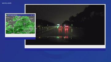 Chevy Storm Tracker: Rain moving through the Carolinas