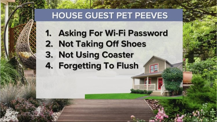 The Speed Feed: The most annoying house guest pet peeves