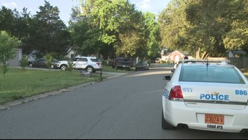 Police: Suspects broke into Myers Park home, then crashed car after vehicle pursuit
