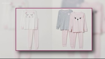 H&M recalls children's pajamas due to flammability concerns