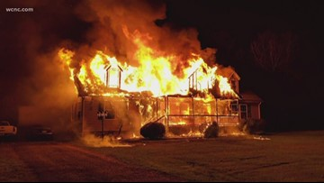 Catawba family loses everything in house fire