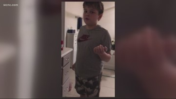 Charlotte-area mom pranks her son on April Fools' Day