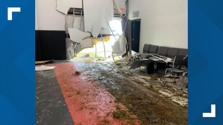 Car crashes into Steele Creek martial arts school