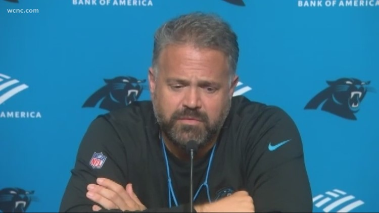 Panthers head coach reacts to lifted mask mandate