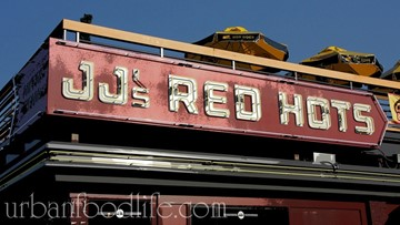 JJ's Red Hots to celebrate selling 1 million hot dogs