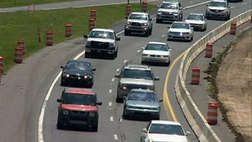 Bridge construction shuts down lanes of I-277 through December