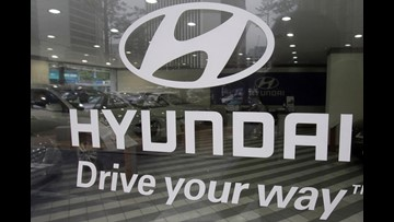 Hyundai, Kia recalling 168,000 vehicles due to risk of fire