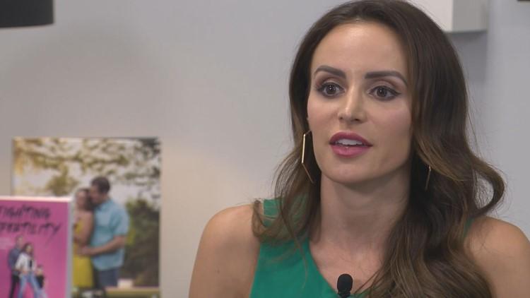 Samantha Busch continues to raise awareness on infertility