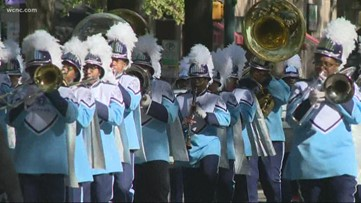 Veterans parade held in uptown Charlotte