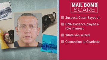 Serial bomb suspect has ties to Charlotte