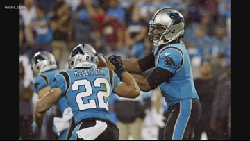 Panthers trail Bucs in 4th quarter