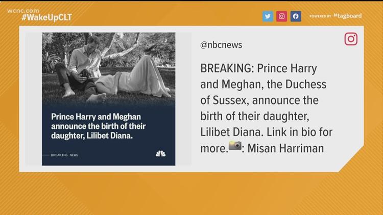 Prince Harry, Meghan Markle welcome baby girl