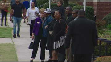 Community gathers for funeral of Charlotte mom killed by crossfire in shootout