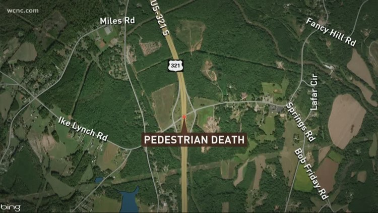 Pedestrian hit and killed by car in Gaston Co.