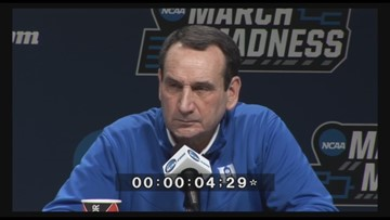Coach K says the hype of the tournament won't affect the way he coaches or how his team will play