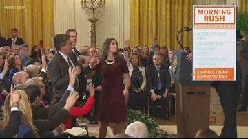 CNN sues Trump administration for pulling Jim Acosta's press pass